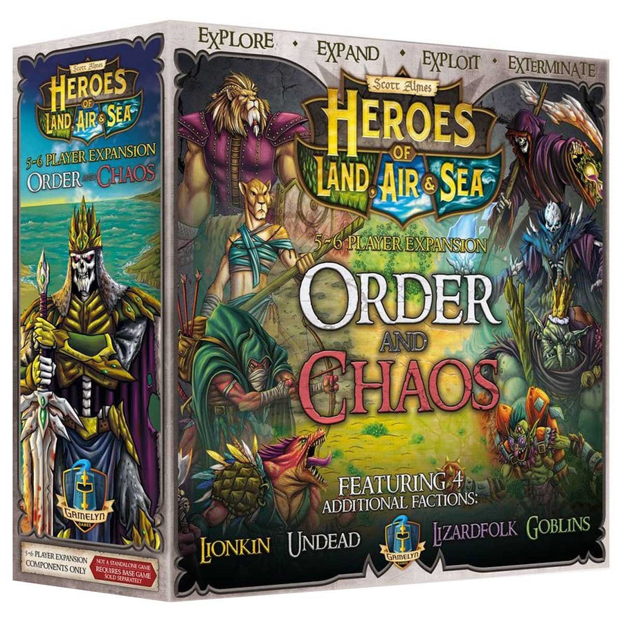 heroes of order and chaos guide