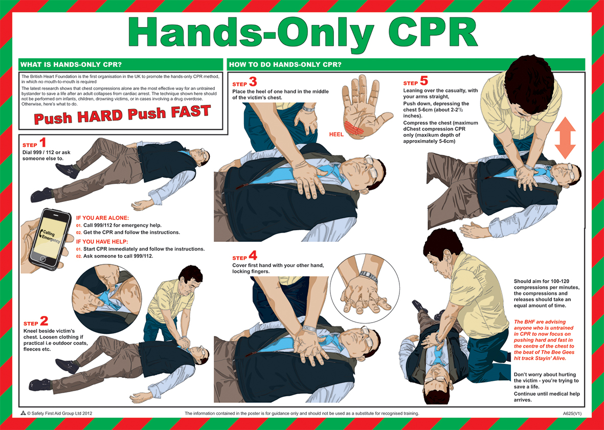 free printable first aid pocket guide