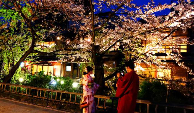 gion self guided walking tour