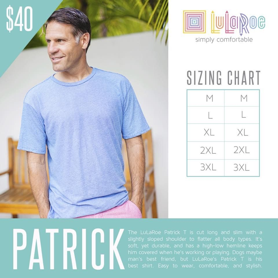 mens t shirt size guide