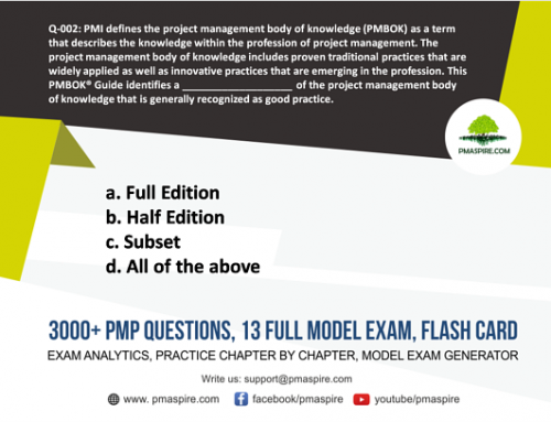 pmp study guide 6th edition
